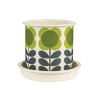Orla Kiely Big Spot Flower Plant Pot Small