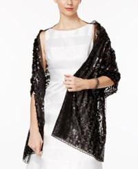 Inc International Concepts Sequin Evening Wrap Only At Macy's Black