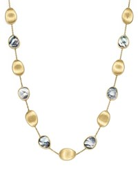Marco Bicego 18K Yellow Gold Lunaria Black Mother Of Pearl Short Necklace 100 Bloomingdale's Exclusive Black Gold