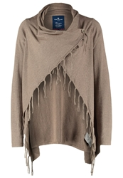 Tom Tailor Cardigan Taupe