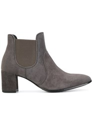 Pedro Garcia Xelo Boots Women Leather Suede 41 Grey