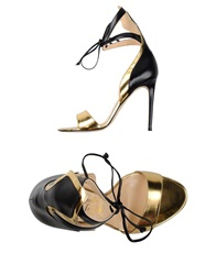 Alejandro Ingelmo Sandals Gold