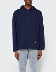 Stussy Heavy Hooded Jersey Navy