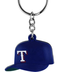 Aminco Texas Rangers Soft Rubber Cap Keychain Team Color