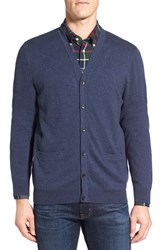 Nordstrom Men's Big And Tall Cardigan Blue Estate Heather