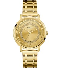 Guess W0933l2 Montauk Gold Plated Stainless Watch