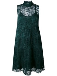 See By Chloe Lace Dress Women Polyester Viscose 40 Green