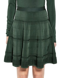Pink Tartan Pointelle Ballet Skirt Green