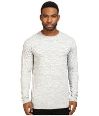 Publish Premium Jersey Knit Long Sleeve Tee Heather Men's T Shirt Gray