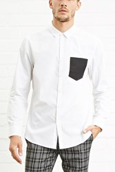 Forever 21 Contrast Pocket Shirt