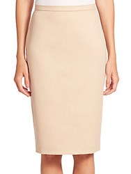 Max Mara Ronco Pencil Skirt Albino