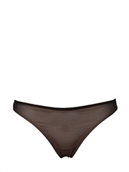 Chantal Thomass Stretch Tulle Thong