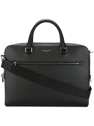 Michael Kors Medium Harrison Briefcase Black