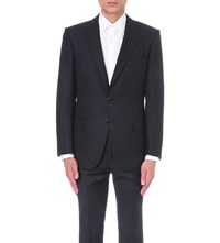Gieves And Hawkes Regular Fit Wool Jacket Navy