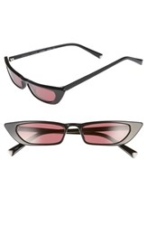 Kendall Kylie Vivian 51Mm Extreme Cat Eye Sunglasses Black
