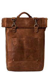 Timberland Men's 'Walnut Hill' Leather Backpack