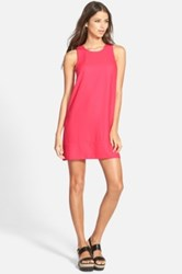 Leith Racerback Shift Dress Juniors Pink