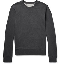 Nudie Jeans Sven Loopback Organic Cotton Jersey Sweatshirt Gray