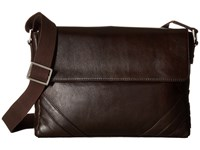Scully Hidesign Carter Messenger Bag Brown Messenger Bags