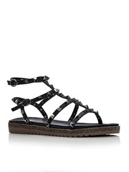 Moda In Pelle Naina Low Smart Sandals Black
