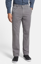Ag Jeans 'The Lux' Tailored Straight Leg Chinos Cosmopolitan Grey