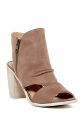 Rebels Angie Cutout Bootie Beige