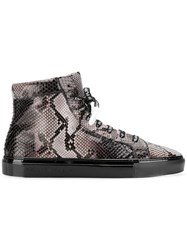 Philipp Plein High Top Sneakers Black