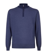 Peter Millar Half Zip Wool Jumper Male
