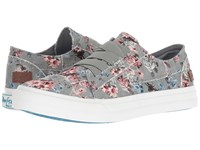 Blowfish Marley Drizzle Grey Love Letter Flat Shoes Multi