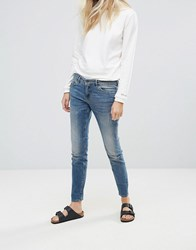 Blend She Casual Canne Slim Jeans Med Blue Denim