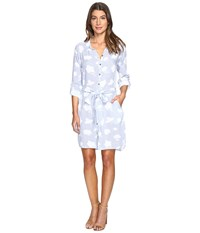 Hatley Belted Shirtdress Porcelain Women's Dress Bone