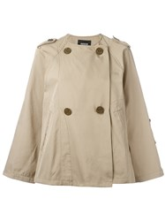 Zucca Double Breasted Jacket Nude Neutrals
