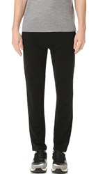 Z Zegna Techmerino Drawstring Sweatpants Black