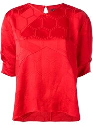Isabel Marant Silway Top Red