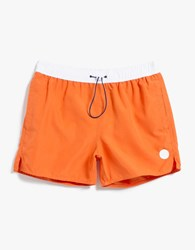 Native Youth Toggle Color Block Swim Blood Orange