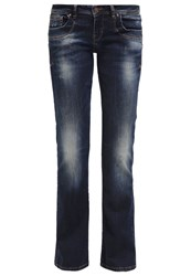 Ltb Valerie Bootcut Jeans Asia Wash Dark Blue