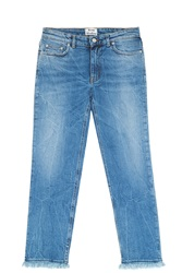 Acne Studios Row Boyfriend Jeans Blue