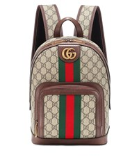 Gucci Ophidia Gg Small Backpack Brown