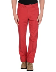 Fay Casual Pants Red