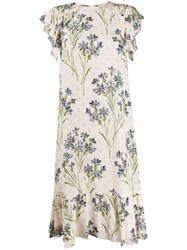 Red Valentino Floral Print Dress 60