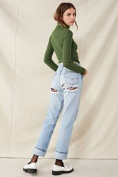 Urban Renewal Recycled Shredded Back Levi's Jean Indigo