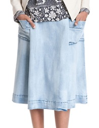 Plenty By Tracy Reese Chambray Skirt