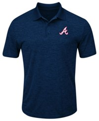 Profile Big And Tall Atlanta Braves First Hit Polo Navy