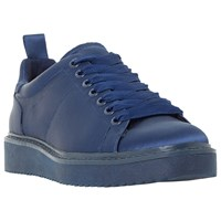 Dune Etch Lace Up Trainers Navy