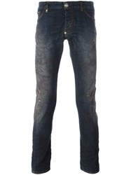 Philipp Plein 'Glory' Jeans Blue