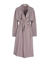 Stefanel Coats And Jackets Full Length Jackets Women Dove Grey