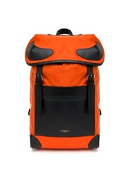 Givenchy Two Toned Backpack Orange Black