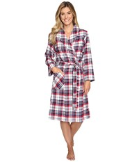 Jockey Flannel Robe Holiday Tartan Women's Robe Red