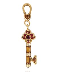 Hope Key Charm Jay Strongwater Multi Colors