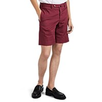 Incotex B Body Classic Fit Royal Batavia Shorts Wine